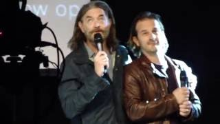 "JIBCON 7 - Richard&Timothy panel - Tim singing Goodnight My Friend from ""Galavant"""