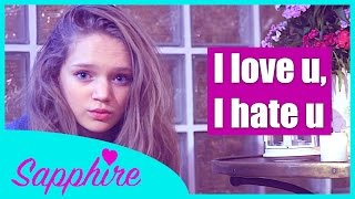 I hate u I love u - Gnash (ft. olivia o'brien) | Cover by 13 y/o Sapphire #MASHUP