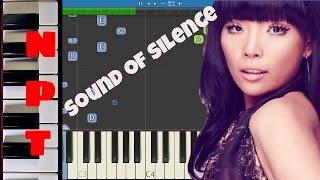 Dami Im - Sound of Silence Piano Tutorial - Australia Eurovision 2016
