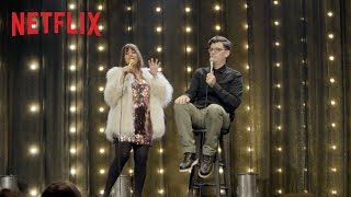 Natasha Leggero & Moshe Kasher: The Honeymoon Standup Special | Official Trailer | Netflix width=