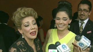 Chismes de Premios TVyNovelas, Cynthia Klitbo aclaró su cuestión con Livia Brito