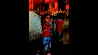 Hanna cantando vallenato con tan solo 3 años de ed