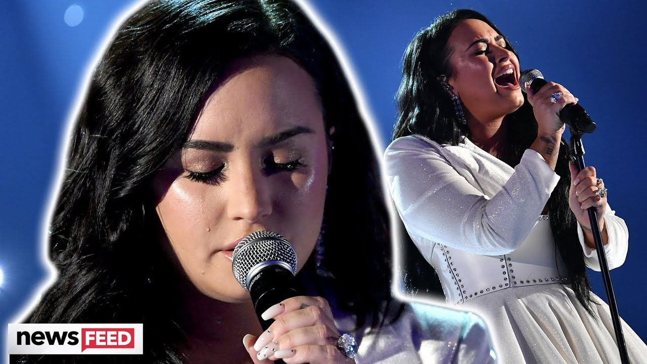 Demi Lovato makes Emotional return to Music!