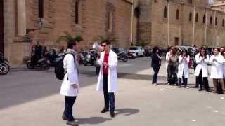 Ma ndo vai se la salute non ce l'hai - Sit-in SIGM Giovani Medici Sicilia Aprile 2013 ARS