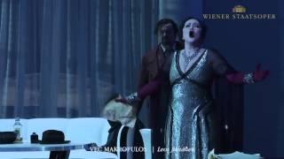"Leoš Janáček: ""Věc Makropulos"" (Trailer) | Wiener Staatsoper"