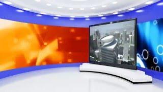 3D virtual studio