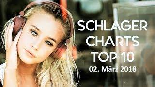 Schlager Charts Top 10 - Die Hits vom 02. März 2018