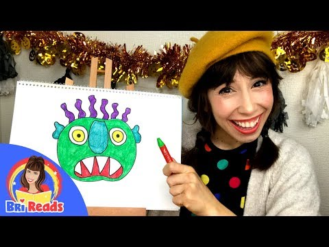 How to Draw a Monster | Halloween Draw Along - YouTube