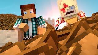 Minecraft Animado #02 : O MUNDO DE PÃO !! ( Minecraft Animation )