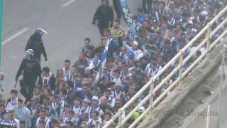 Invasion of Super Dragões/FC Porto in Benfica