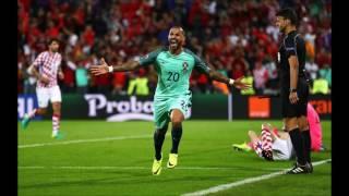 GOLO Quaresma vs Croácia   Relato Antena 1    Portugal vs Croatia (Se comentateur est fou )