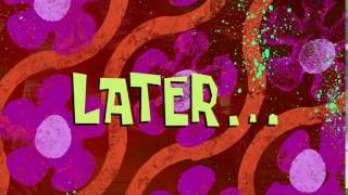 Later... | SpongeBob Time Card #137