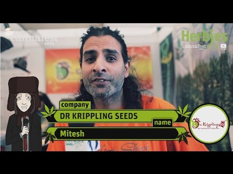 Dr Krippling Seeds @ Cannafest 2014 Prague
