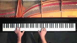 Bach (arr. Myra Hess) 'Jesu, Joy of Man's Desiring' P. Barton, FEURICH piano