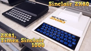 Documentary - The SInclair ZX80, ZX81, and Timex Sinclair 1000
