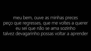 Salvador Sobral - Amar Pelos Dois (LETRA/LYRICS)