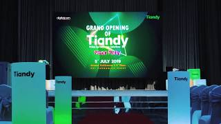 Grand Opening of Tiandy : Video Suveillance Solution