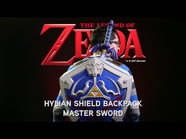 6da49bf2f48f Legend of Zelda Hylian Shield Backpack