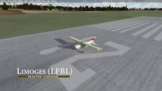 [IVAO] Fly'in VFR Limoges - Bergerac
