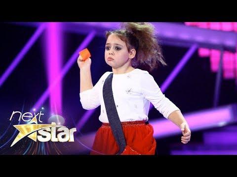 Catrinel Voinea a făcut juriul să râdă cu numărul ei de pantomimă, Next Star
