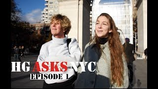 HG asks NYC - Episode 1  | What role does art play in society?
