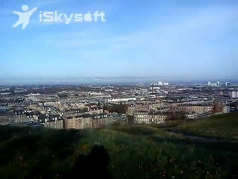 Edynburg z góry