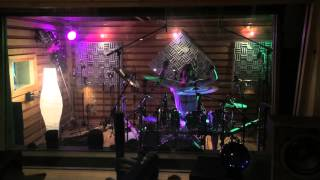 Drum and guitar tracking Rendezvous Point´s debut album