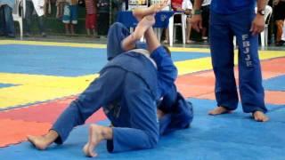 Gabriel Ferraz 5 Etapa do Baiano Jiu Jitsu 2 Luta