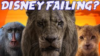 HAS DISNEY LOST THEIR MAGIC? (Live Action The Lion King)