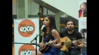 Paty Cantú-Suerte showcase Plaza Reforma (15-02-13)