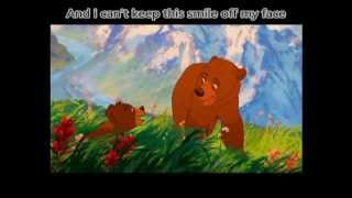 Phil Collins- On my Way (Lyrics) [Brother Bear]
