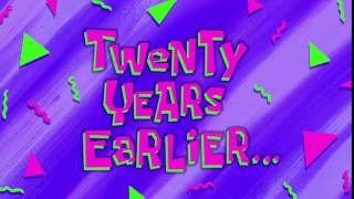 Twenty Years Earlier... | SpongeBob Time Card #110