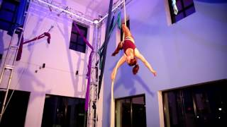 "Aerial Rope Act ""Heart of Steel"""