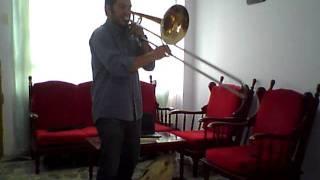 PABLO RUIZ HENAO -BASSTROMBONE- YOA audition 2012