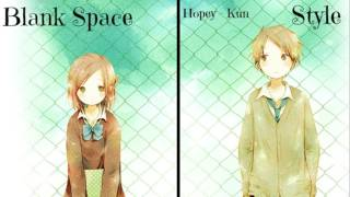 Nightcore Blank Space X Style Switching Vocals