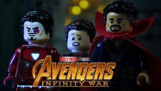 Avengers Infinity War Super Bowl Trailer in LEGO