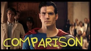Batman V Superman Trailer - Homemade Side by Side Comparison