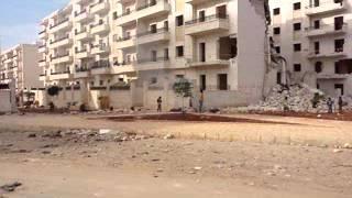 Shelling of Aleppo.wmv