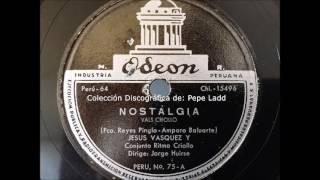NOSTALGIA - JESÚS VÁSQUEZ Y JORGE HUIRSE
