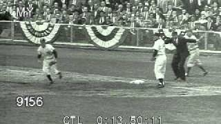 Stock Footage - Dodgers Win World Series 1955