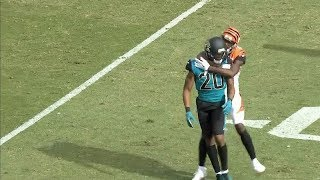 AJ Green vs. Jalen Ramsey FIGHT With Punches Thrown | Bengals vs. Jags | NFL