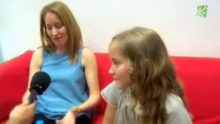 Entrevista Natalia Maguilla  gala 1 juniors 2º edición