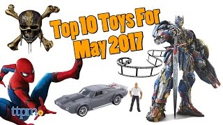 Top 10 Toys in May 2017