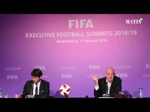 Video : Gianni Infantino : Feu vert pour une candidature maroco-ibérique