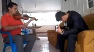 VIOLINO E VIOLÃO - HINO 283 CCB - QUERO Ó SENHOR IR CONTIGO AO CÉU