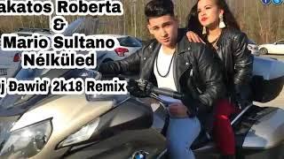 Lakatos Roberta & Mario Sultano - Nélküled (Đj Đawiđ 2k18 Remix)