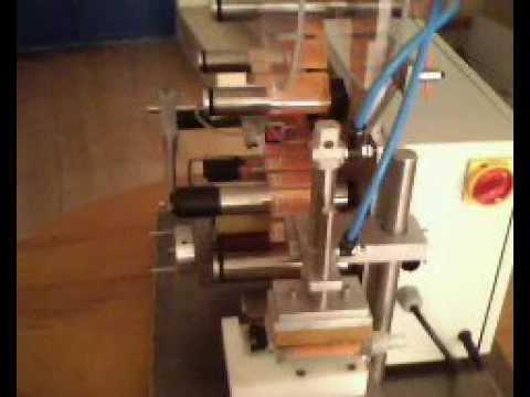 Yarı Otomatik Etiketleme Makinesi - HALİL MAKİNA