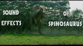 Jurassic Park III - Spinosaurus Sound Effects