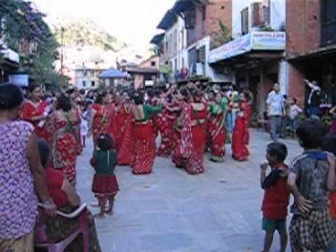 Nepal Bandipur Dasain