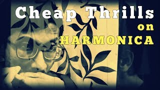 Cheap Thrills - Sia | Harmonica Cover - Arindam Sen